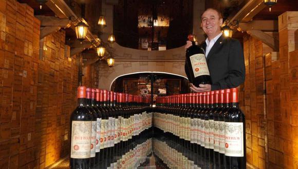 Según Michel-Jack Chasseuil, su casa tiene un valor de 350.000 euros en promedio; de acuerdo con expertos en reliquias, solo su colección de vinos, 40 millones de euros. (Foto: Facebook/Michel-Jack Chasseuil)