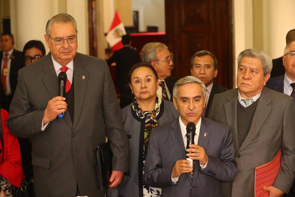 Comisión de reforma judicial inició su labor recogiendo sugerencias. (Geraldo Caso/Perú21)