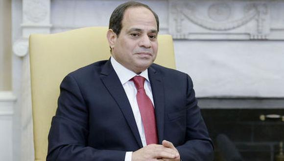El mandatario de Egipto, Abdel Fatah al Sisi. (Foto: EFE)