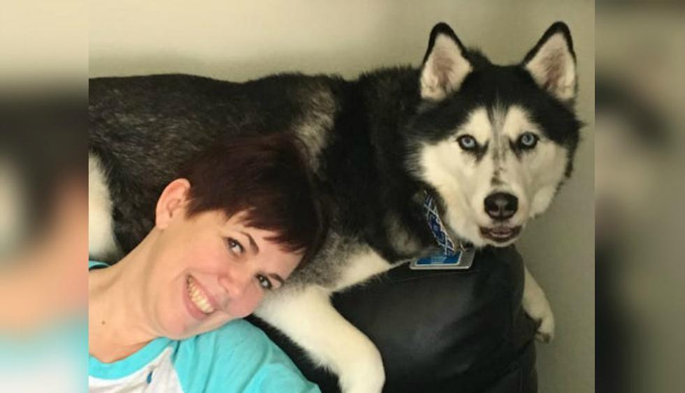 Stephanie conoció a Sierra en 2011, cuando el animal tenía 9 meses. (Foto: Stephanie Herfel)