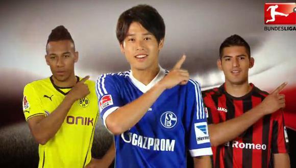 Zaguero del Eintracht Frankfurt es el único peruano que aparece en el spot oficial de la Bundesliga. (Captura)