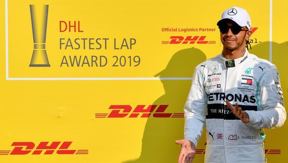 Las palabras de Hamilton llevó a varios actores de la F1 a reaccionar. (Foto: AFP)