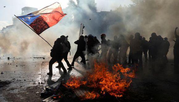 Crisis y Constitución. (Reuters)