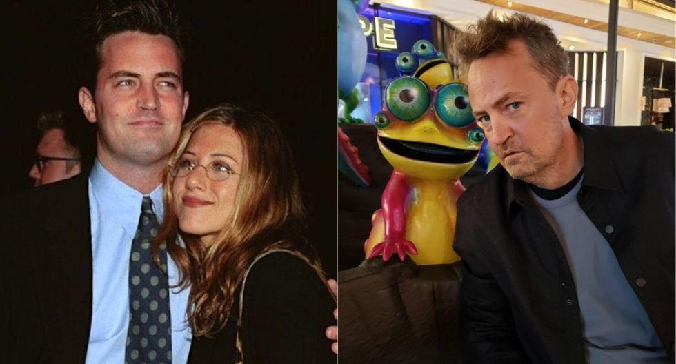 Matthew Perry envió un cariñoso saludo a su amiga Jennifer Aniston. (Foto: @jenniferaniston)