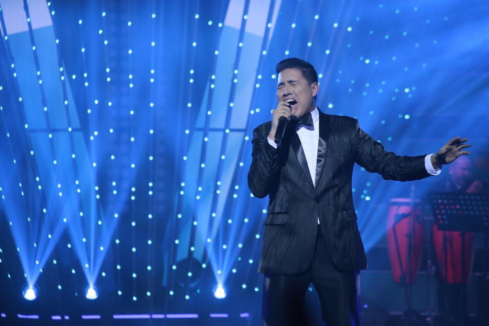 El cantante Pedro Loli se consagró como el ganador del reality 'El artista del año'. (Créditos: GV Producciones)