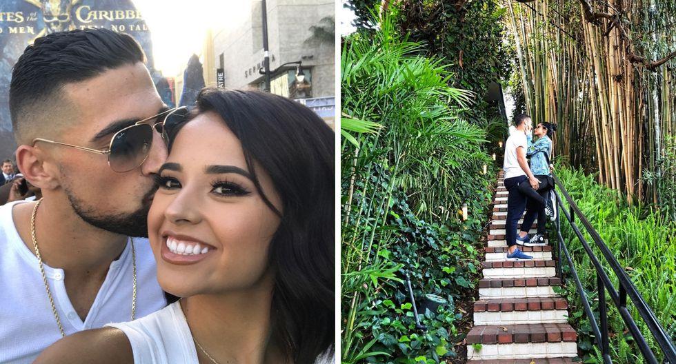 Becky G dedica tierno mensaje a Sebastián Lletget por su tercer aniversario (Foto: Instagram)