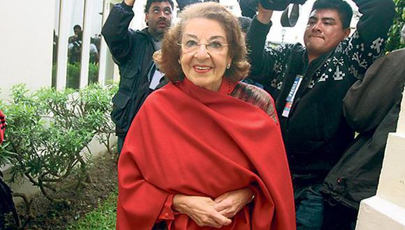 Eva Fernenbug busca ser excluida del caso. (Perú21)