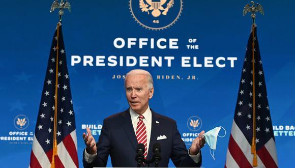 Joe Biden debería reforzar su victoria el jueves al finalizarse el recuento de votos en el estado de Georgia. (Foto: ROBERTO SCHMIDT / AFP)