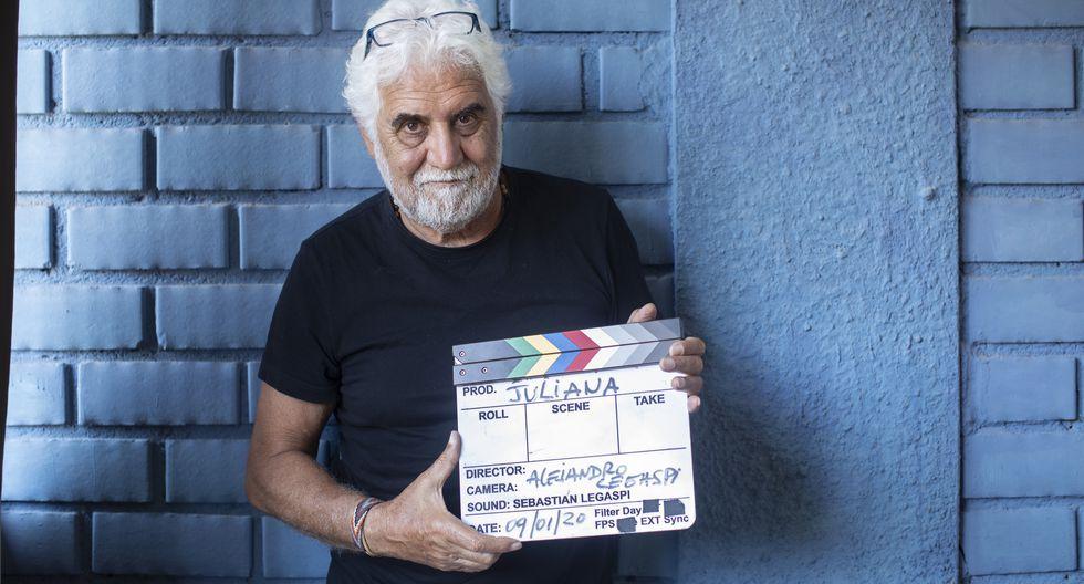 Conversamos con el cineasta Alejandro Legaspi, con motivo del reestreno de su película 'Juliana'. (Perú21/ José Rojas)