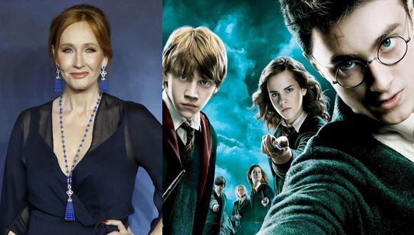 J.K. Rowling lanza una plataforma con actividades para el confinamiento por el coronavirus. (Foto: Composición)
