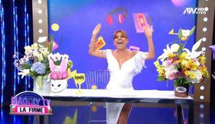 Magaly Medina inicia bailando la tercera temporada de su programa | VIDEO