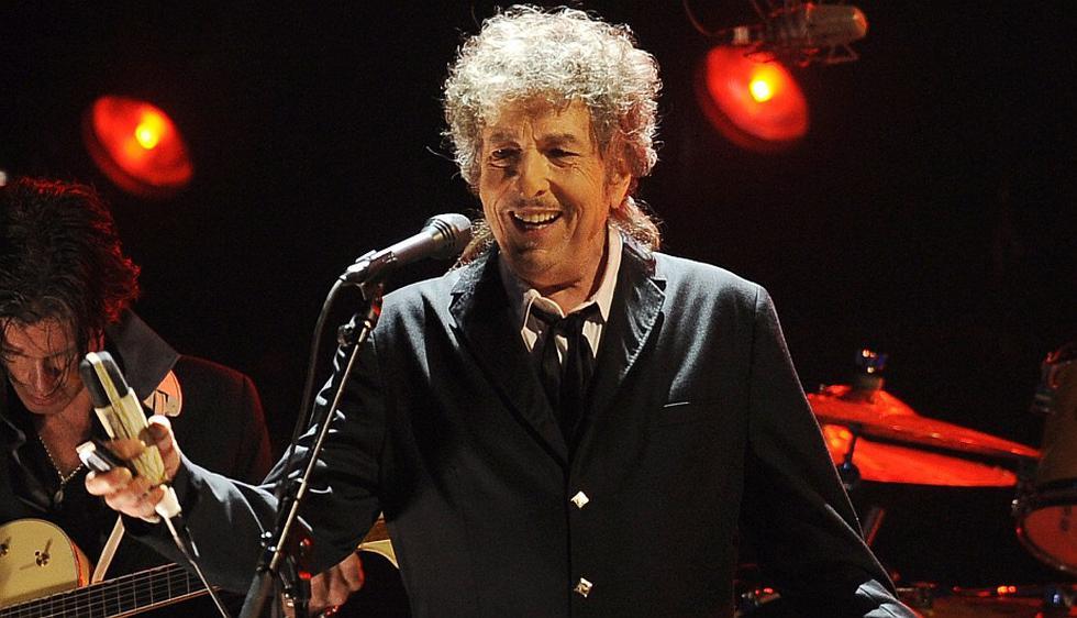 Bob Dylan ganó el Premio Nobel de Literatura 2016. (AP)