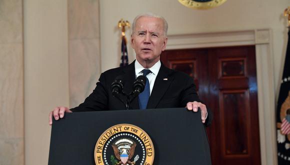 Joe Biden ha estado sometido durante estos días a una tremenda presión por parte de miembros del Partido Demócrata, que por primera vez en décadas han roto con su política de apoyo incondicional a Israel. (Foto: Nicholas Kamm / AFP)