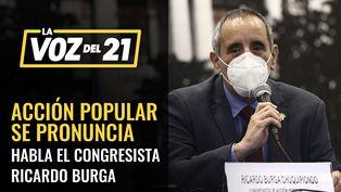Ricardo Burga sobre negación de confianza
