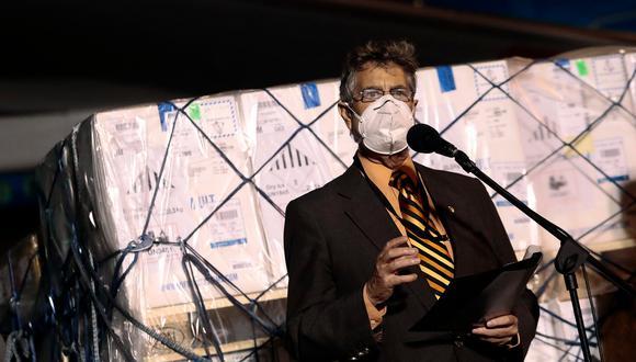 Francisco Sagasti pidió a los transportistas que liberen las vías. (Foto: Presidencia)