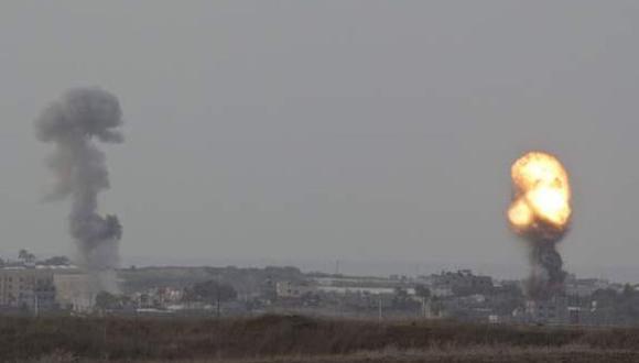 """El Ejército israelí señaló que el movimiento islamista """"es responsable de todos los eventos que ocurren en la Franja de Gaza y emanan de ella"""" a través de un comunicado. (Foto: EFE)"""