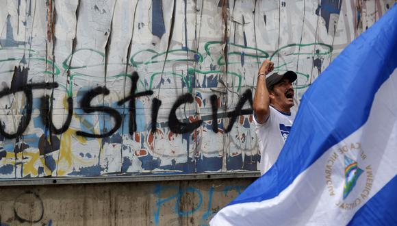 El periodista fue capturado en medio de una crisis que ha dejado entre 295 y 448 muertos por las manifestaciones contra el presidente Daniel Ortega. (Foto: AFP)