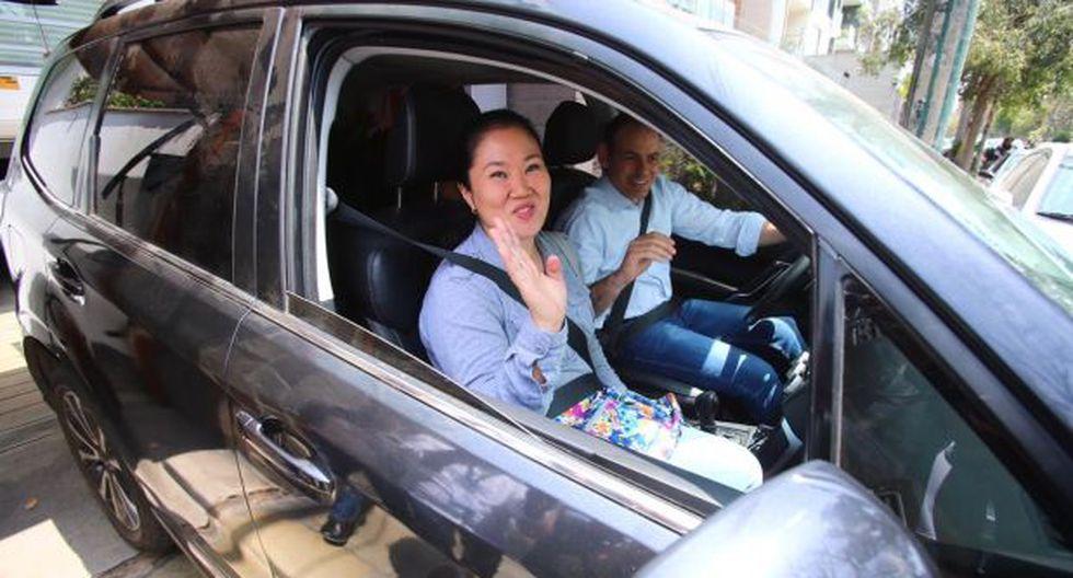 Keiko Fujimori en libertad desde el viernes pasado. (Foto: GEC)