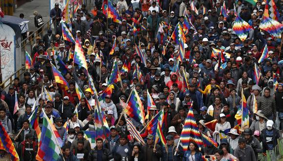 """Bolivia se encuentran en alerta y a la espera de ayudar a cualquier connacional que se encuentre en """"situación de riesgo"""". (AP Photo/Juan Karita)"""