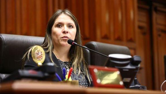 La congresista Yeni Vilcatoma señaló que cuando ejerció como fiscal investigó a 'Goro' por el caso La Centralita. (Foto: GEC)