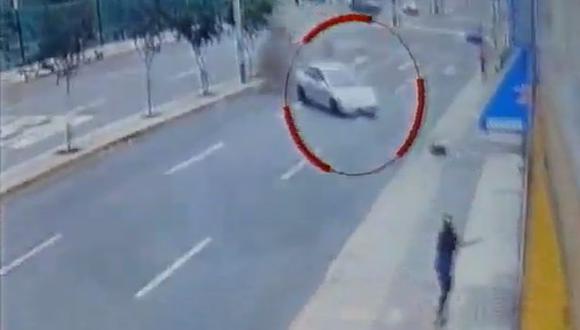 El hecho ocurrió cerca del mercado de la avenida Tingo María en Breña. (América TV)