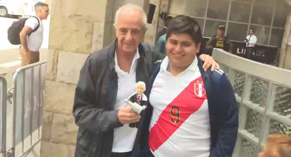 Hincha peruano realiza hazaña para cumplir su sueño de conocer al presidente de River Plate
